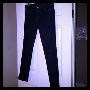 KUT dark wash Diana skinny jeans sz 6